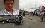 """Thông tin """"sốc"""" về tài xế container gây tai nạn thảm khốc ở Long An, 4 người chết"""