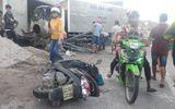 """Vượt xe cẩu """"bất thành"""", ô tô tải tông chết 2 người ở Phú Quốc"""
