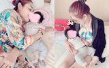 Lâm Khánh Chi tiết lộ ảnh con trai sinh bằng phương pháp mang thai hộ
