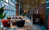Cận cảnh phòng chờ hạng thương gia đẹp như khách sạn 5 sao tại Cảng hàng không quốc tế Vân Đồn