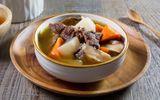 Món ngon mỗi ngày: Thịt bò hầm củ cái trắng bổ dưỡng vào mùa lạnh