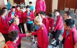 Video: Thầy trò HLV Park Hang-seo chơi gameshow trước trận tứ kết gặp Nhật Bản
