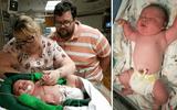 """Bác sĩ 30 năm tay nghề """"sốc nặng""""khi đỡ đẻ cho một trẻ sơ sinh khổng lồ nặng gần 7kg"""