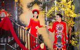 Dương Yến Nhung khoe nhan sắc rạng rỡ với áo dài trong MV Tết