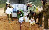 Hãi hùng nước lã + phẩm màu + cồn công nghiệp = 2.080 lít rượu ngô bao tử