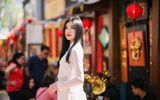 """Nữ diễn viên """"Những cô gái trong thành phố"""" khoe đường cong tuyệt đẹp với áo dài"""