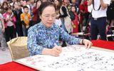Hải Phòng: Tưng bừng lễ khai bút đầu xuân tại khu tưởng niệm vương triều Mạc
