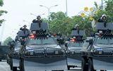 Xe bọc thép chống khủng bố xuất hiện trên đường phố Hà Nội trước thềm Hội nghị Mỹ - Triều