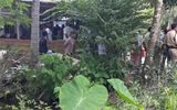 Bàng hoàng phát hiện thi thể 2 cha con dưới đầm tôm nhà hàng xóm