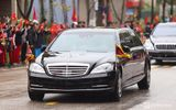 """""""Lá chắn thép"""" Mercedes S600 Pullman Guard chở ông Kim Jong-un có gì đặc biệt?"""