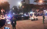 Video: Đoàn xe hộ tống Tổng thống Trump và Chủ tịch Triều Tiên tới Khách sạn Metropole