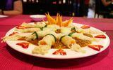 Món ngon mỗi ngày: Bắp cải cuộn nấm kim châm sốt đặc chế lạ miệng