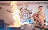 Hà Nội chỉ đạo kiểm tra, xử lý nghiêm vụ rapper đốt sách vở học sinh quay MV