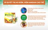 Dự  trữ ngay bài thuốc từ cúc lục lăng nếu trẻ hay bị viêm Amidan