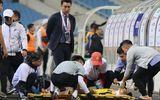 Video: Pha va chạm kinh hoàng với hậu vệ U23 Thái Lan khiến cầu thủ U23 Brunei gãy cổ