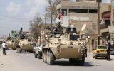 """IS bị xóa sổ, Mỹ ồ ạt triển khai hơn 150 xe quân sự tới """"chảo lửa"""" Syria"""