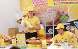 Công ty CP Sakuko Việt Nam bày bán bánh Beard Papa's có đảm bảo vệ sinh ATTP?