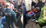 Hà Nội: Điều tra nghi án một đối tượng bịt mặt nổ súng, cướp tiền tại chợ Long Biên