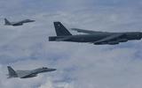 Mỹ điều 2 'pháo đài bay' B-52 đến diễn tập trên biển Hoa Đông