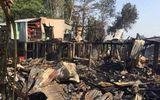 An Giang: Hỏa hoạn thiêu rụi 10 căn nhà gỗ, vất vả dập lửa suốt hơn 2 giờ