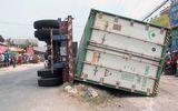 Vụ lật xe container khiến 3 người chết: Tài xế dương tính với ma túy