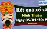 Trực tiếp kết quả Xổ số Ninh Thuận hôm nay, thứ 6 ngày 5/4/2019