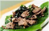 Món ngon mỗi ngày: Thịt bò xào lá lốt ngon không thể chối từ