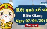 Kết quả xổ số Kiên Giang ngày 7/4/2019