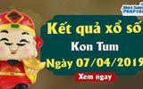 Kết quả xổ số Kon Tum ngày 7/4/2019