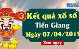 Kết quả xổ số Tiền Giang ngày 7/4/2019