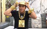"""Video: Đại gia Phúc XO tậu mũ vàng đính 260 viên kim cương """"chỉ"""" 1,8 tỷ"""