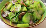 Món ngon mỗi ngày: Cật heo xào mướp thơm ngon, bổ dưỡng