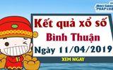 Trực tiếp kết quả Xổ số Bình Thuận thứ 5 ngày 11/4/2019