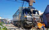Khánh Hòa: Xe tải mất lái lao vào quán nước mía, 5 người nhập viện