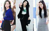 Thời trang sân bay đơn giản nhưng đầy cuốn hút của Jisoo - Black Pink