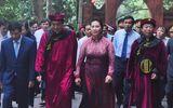Chủ tịch Quốc hội Nguyễn Thị Kim Ngân dự lễ Dâng hương các Vua Hùng