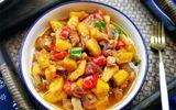 Món ngon mỗi ngày: Thịt heo xào dứa chua ngọt cực ngon