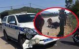 Bình Định: Xe CSGT va chạm với xe máy, 1 người tử vong