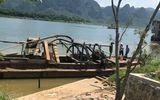 Kinh hãi phát hiện sọ người mắc kẹt vào ống hút cát ở Quảng Bình