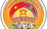 Triều Tiên ra mắt mẫu tem mới kỷ niệm chuyến thăm Việt Nam của ông Kim Jong-un