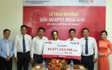Vietlott trao giải jackpot hơn 44 tỷ đồng cho người đàn ông đến từ Cà Mau