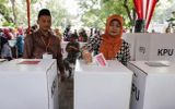 Điện mừng Indonesia tổ chức thành công Bầu cử Tổng thống