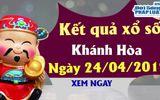 Trực tiếp kết quả Xổ số Khánh Hòa thứ 4 ngày 24/4/2019