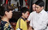 """Vụ nữ lao công bị """"xe điên"""" tông tử vong: Chủ tịch Hà Nội tới thăm hỏi gia đình nạn nhân"""
