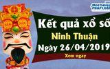 Trực tiếp kết quả Xổ số Ninh Thuận thứ 6 ngày 26/4/2019
