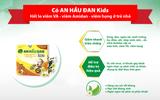 An Hầu Đan Kids - Nỗ lực cùng mẹ Việt hạn chế kháng sinh trong khắc phục viêm VA, viêm amidan