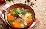 Món ngon mỗi ngày: Canh sườn rau củ thanh mát cho bữa trưa