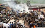 Lai Châu: Hỏa hoạn thiêu rụi 6 căn nhà, kho hàng tại chợ Nậm Cuổi