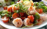 Món ngon mỗi ngày: Gỏi tôm chua lạ mà ngon