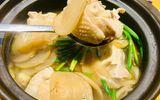 Món ngon mỗi ngày: Canh gà củ cải muối giải ngán sau kỳ nghỉ lễ